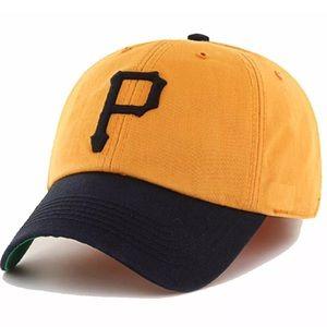 Pittsburgh Pirates 47 Brand Gold Franchise Cap $34